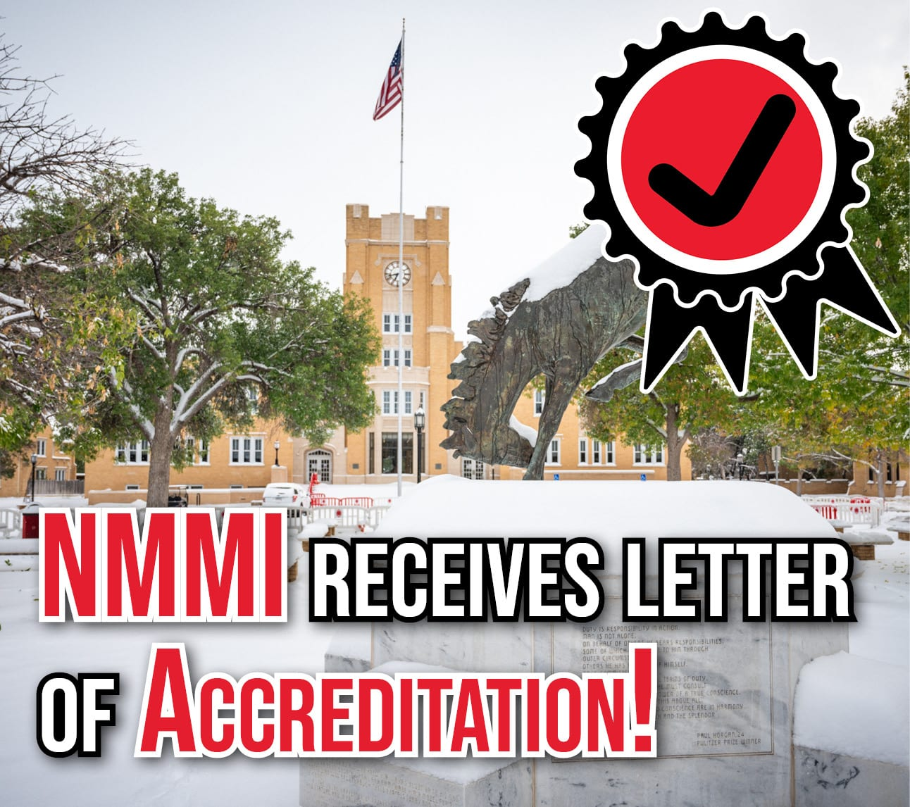 NMMI Receives letter of accreditation