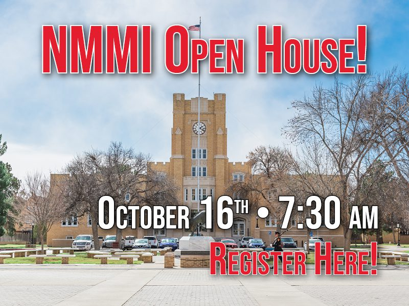 Open House October 16th